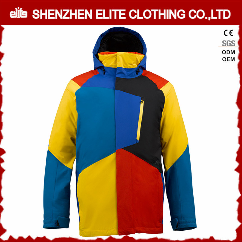 2016 Winter Mens Waterproof Nylon Snowboard Jacket pictures & photos