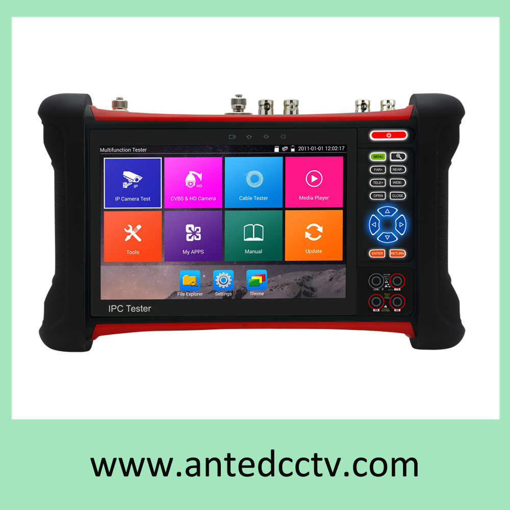 LCD and Signal Meter Multi-Functional CCTV Tester with 3.5 in