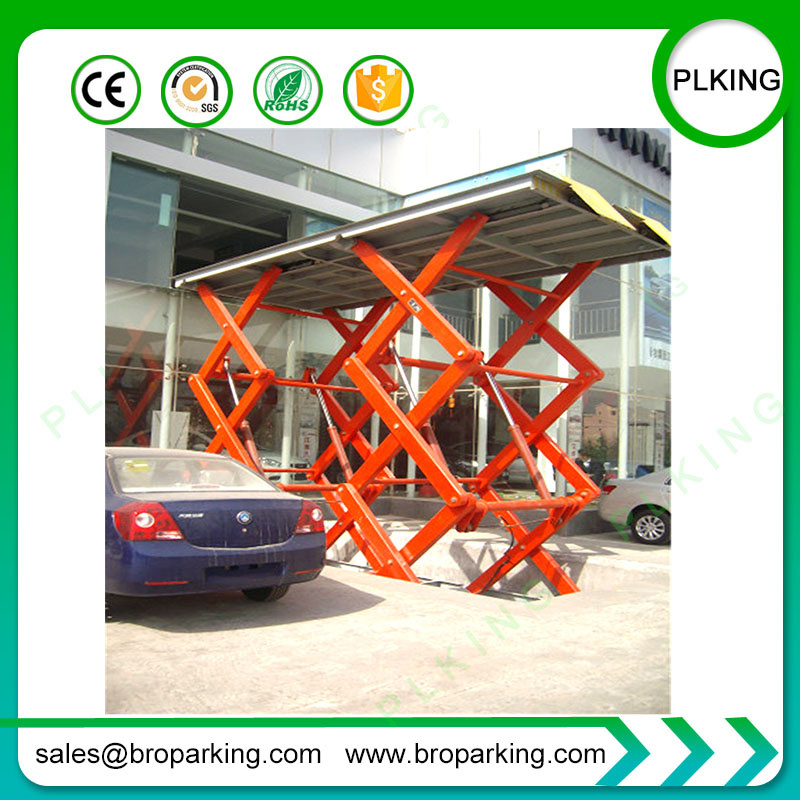 china high rise backyard buddy car scissor lift for sale photos rh bropark en made in china com backyard buddy 4 post lift for sale