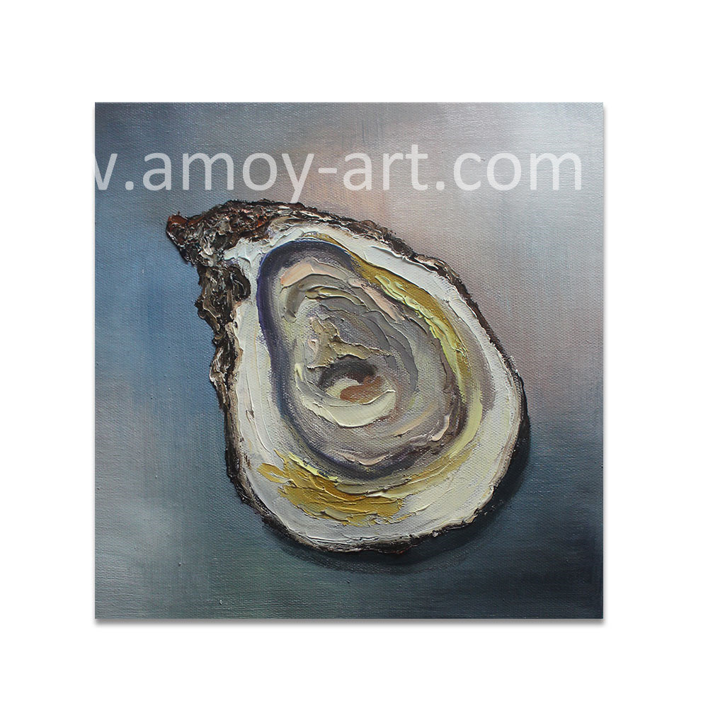 Oyster Canvas Oil Paintings For Kitchen Decoration
