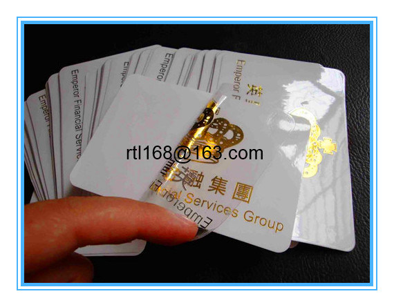 PVC/Pet Self Adhesive Label