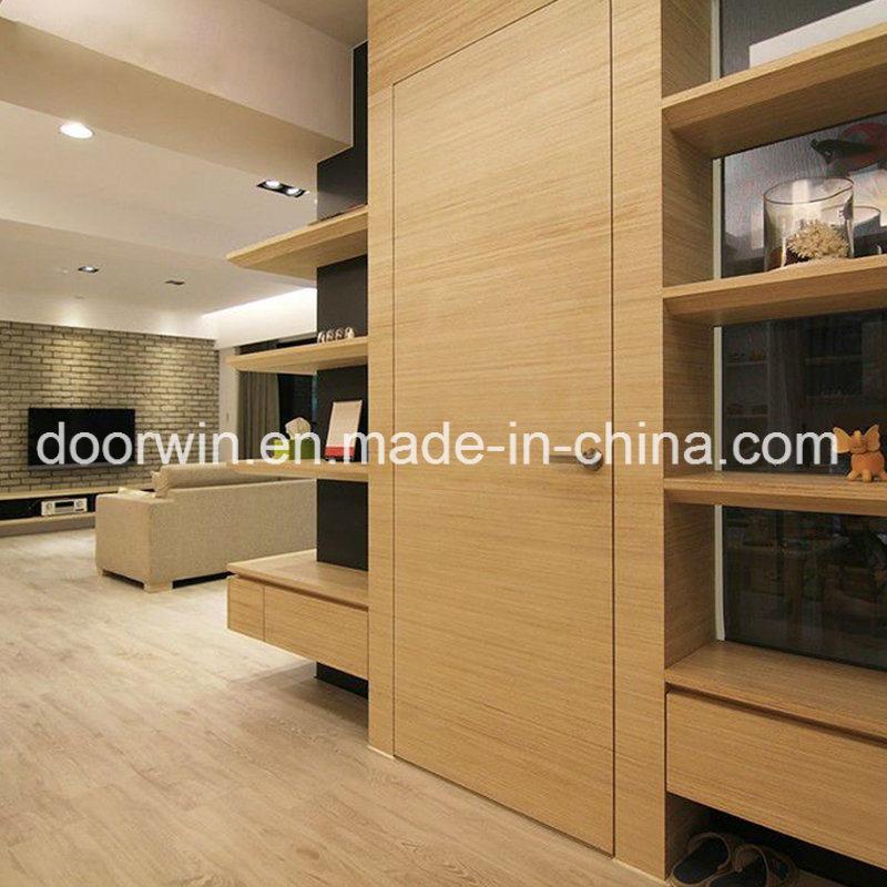 China Western Style Bedroom Entry Doors Wood Door Wooden