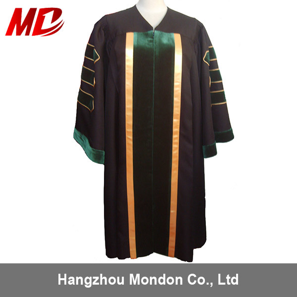 China Hot Selling Doctor Graduation Gown (Robes, Regalia) UK Style ...