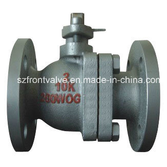 Cast Iron/Ductile Iron JIS Flanged Ball Valve