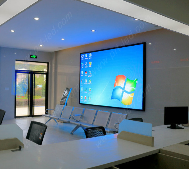 [Hot Item] Programmable 4k Video Wall P1 9 LED Display for Studio/Meeting  Room