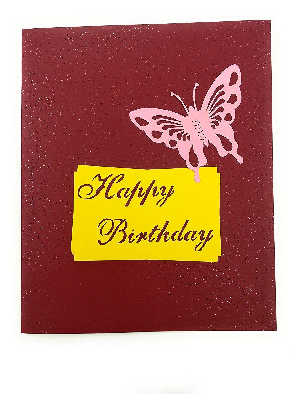 China Manufacturer Birthday Cards Laser Cut Happy Birthday Greeting