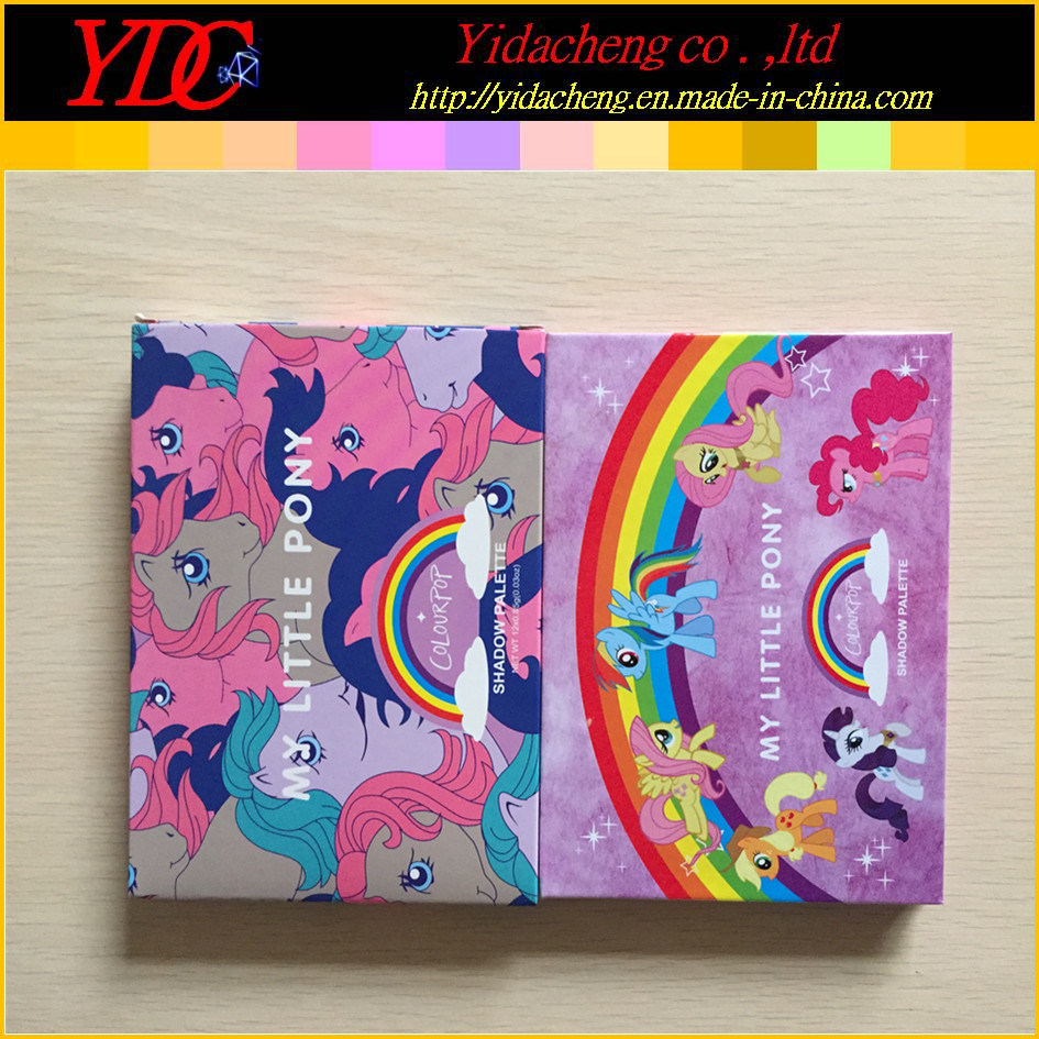 [Hot Item] 12 Shades My Little Pony Pressed Powder Eye Shadow Palette for  Colourpop Makeup