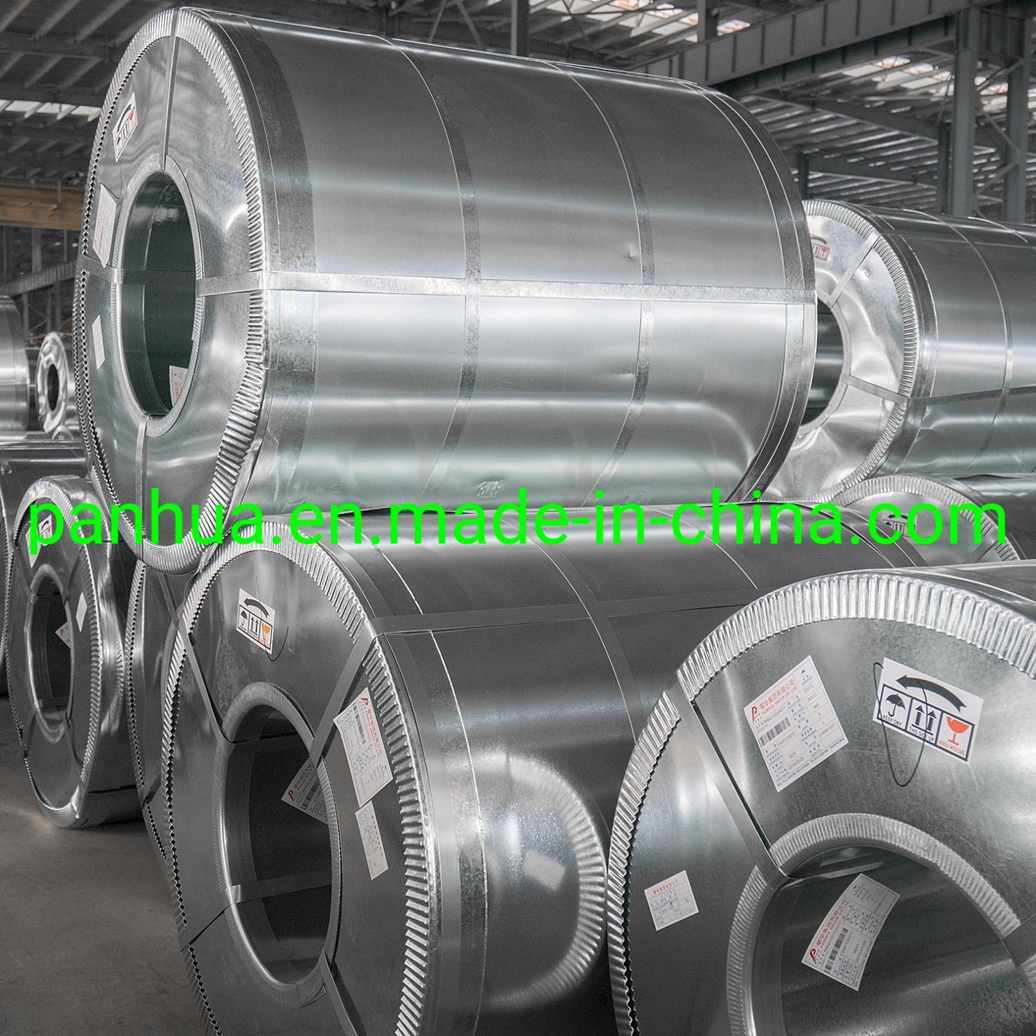 Standard Dx51d+Z Normal Spangle Galvanized Steel Coil pictures & photos