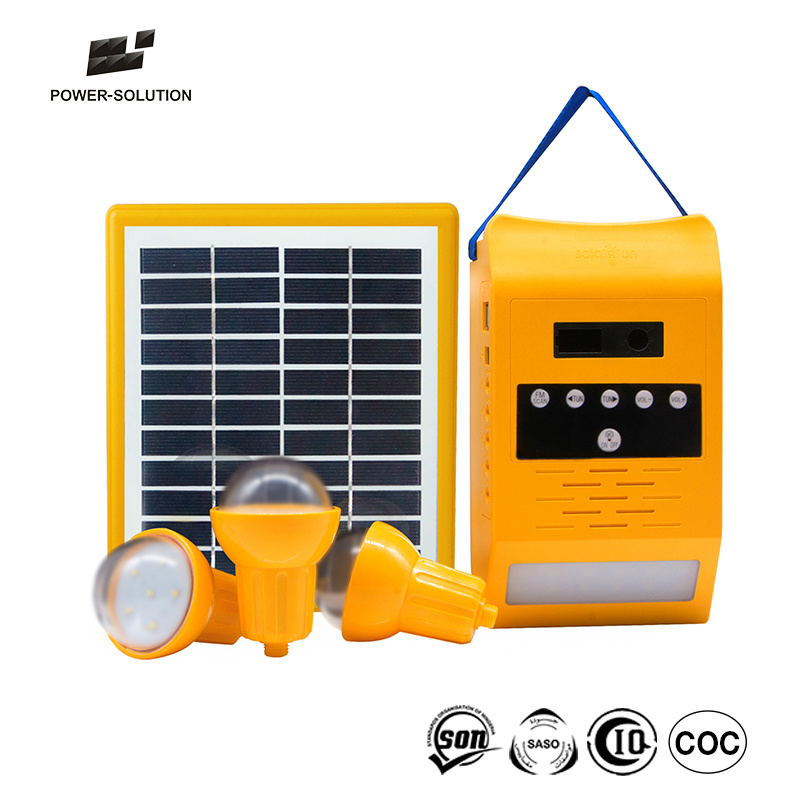 Lighting Global Qualified Solar Home Kit for Lighting 2 to 4 Rooms with 8W 11V Solar Panel pictures & photos