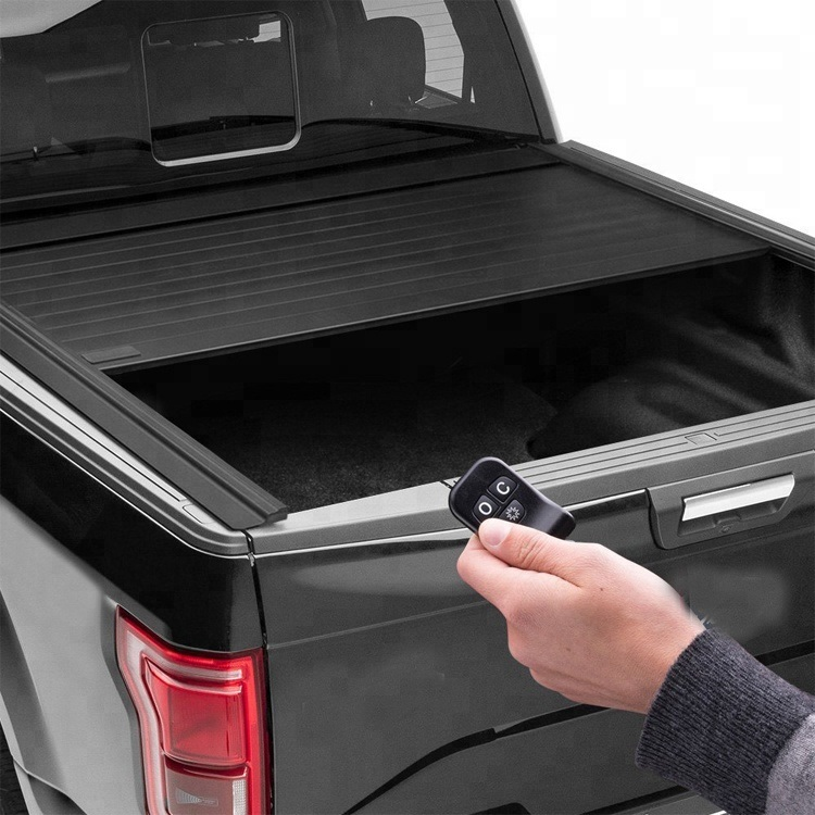 China Best Truck Bed Cover Hot Sale 2018 Electric Retractable Tonneau Cover Powered Tonneau Cover With Led Fit For Navara Np300 Cars China Automatic Car Cover Powered Covers