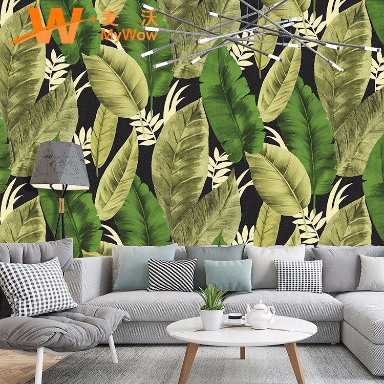 Hot Item Hot Sale Papier Peint Pvc Vinyl Wall Paper For Home Decor Nature Wallpaper 3d