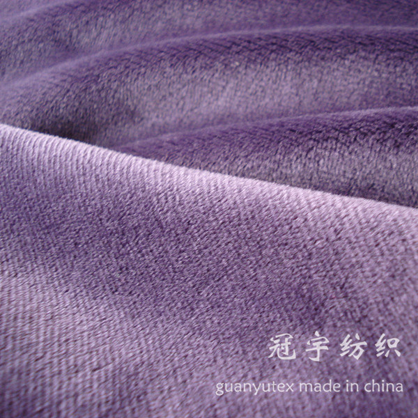 Home Textile Short Pile Extremely Soft Fabric for Sofa