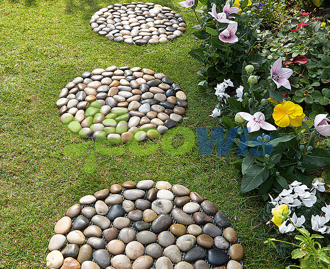 Garden Loose Stone Border China, How To Make Stone Garden Edging