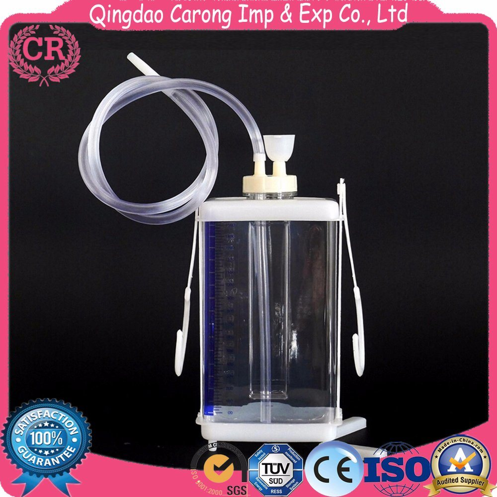 China High Quality Medical Pleural Chest Drainage Bottle