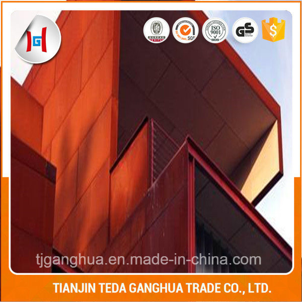 China Baosteel Astm Grade A B Corten Steel Plate Factory Price