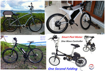 Smart Pie 4 200W-500W Electric Bicycle Motor with LCD Dispplay, Built-in Programmable Controller pictures & photos