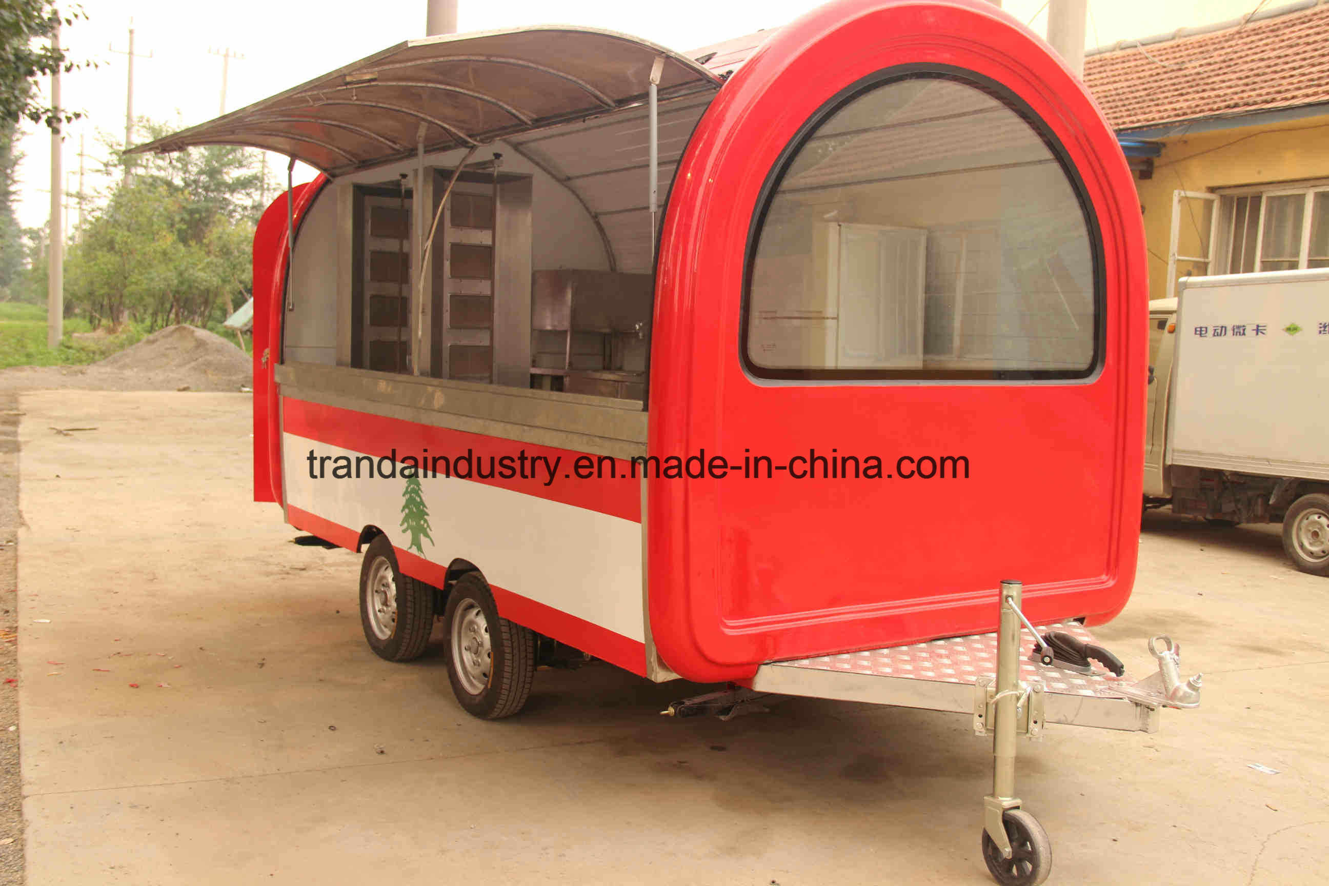 China Supplier Breakfast Kiosk Used Food Truck Sale