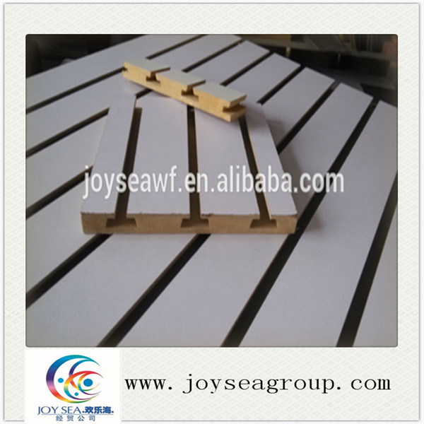 Slotted MDF Board for Hanging Goods Use pictures & photos