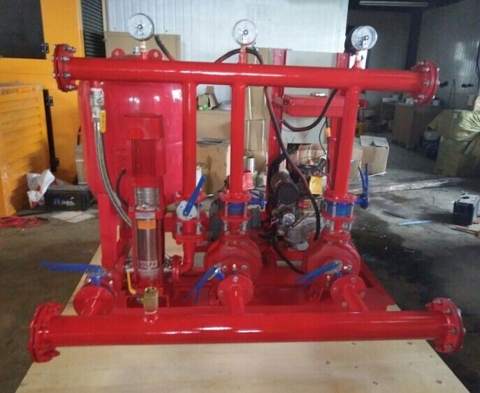 Fire Fighing Pump with Nfpa 20 Std