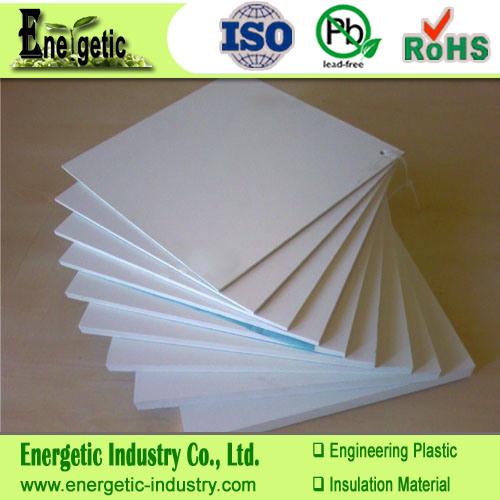 China Natural White Teflon Sheet, 100% Virgin Material