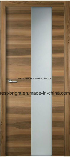 China Modern Frosted Glass Wooden Interior Bedroom Doors China