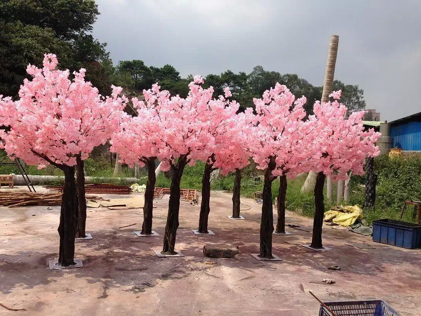 Artificial Plants and Flowers of Cherry Tree 3.3m pictures & photos