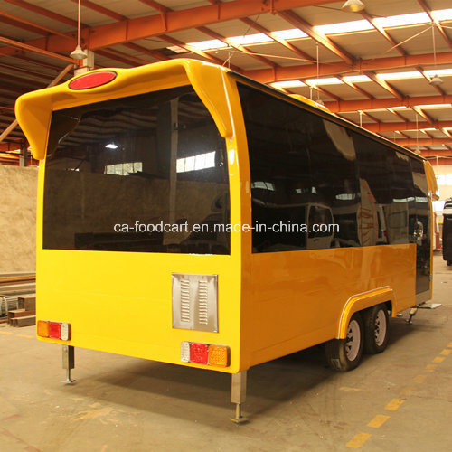 5.6m Fiberglass High Quality Food Trailer pictures & photos