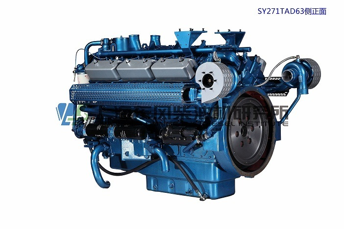 Cummins, 12 Cylinder, 510kw, Shanghai Diesel Engine for Generator Set,