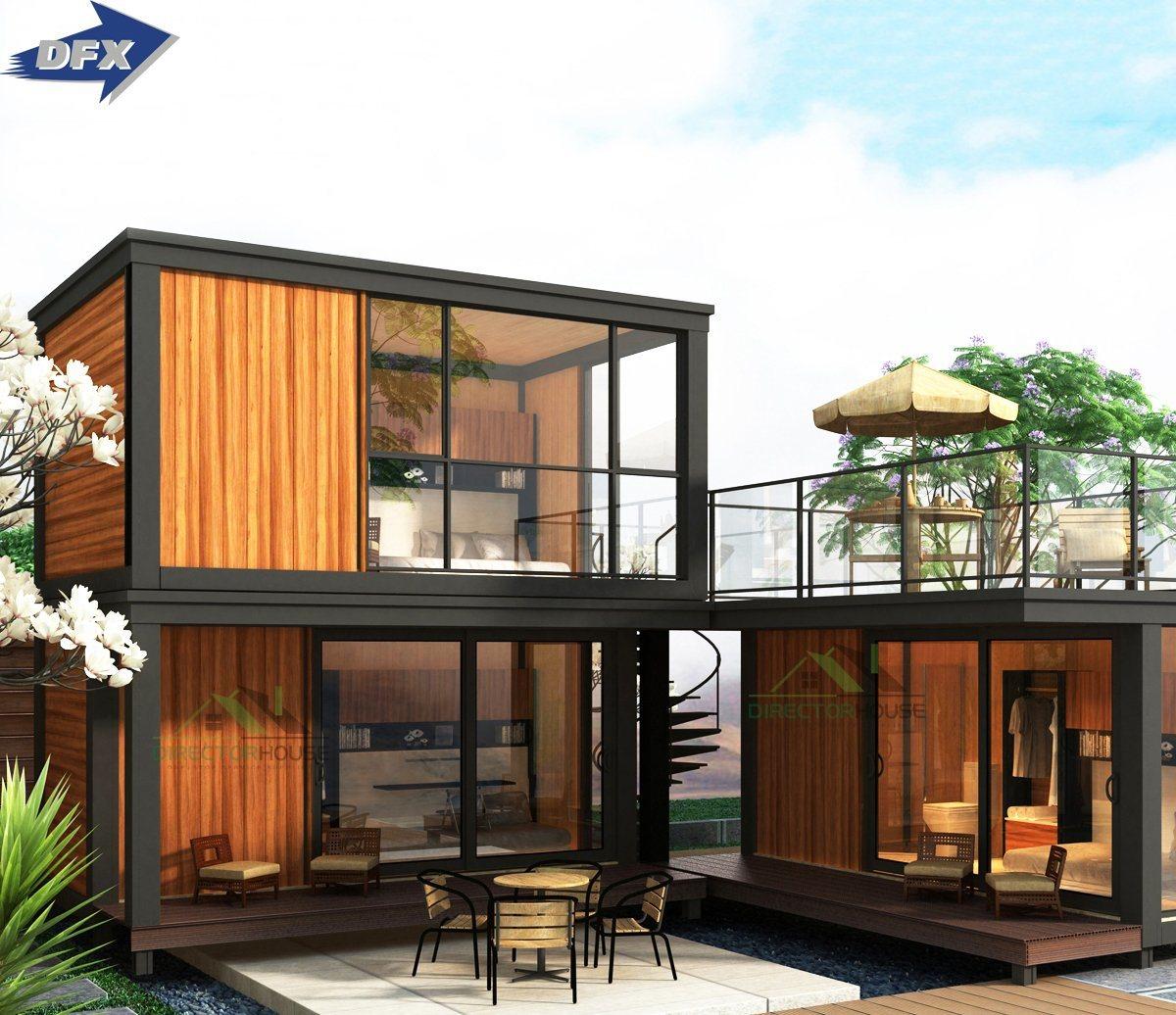 Light Steel Modular Prefab Home Design