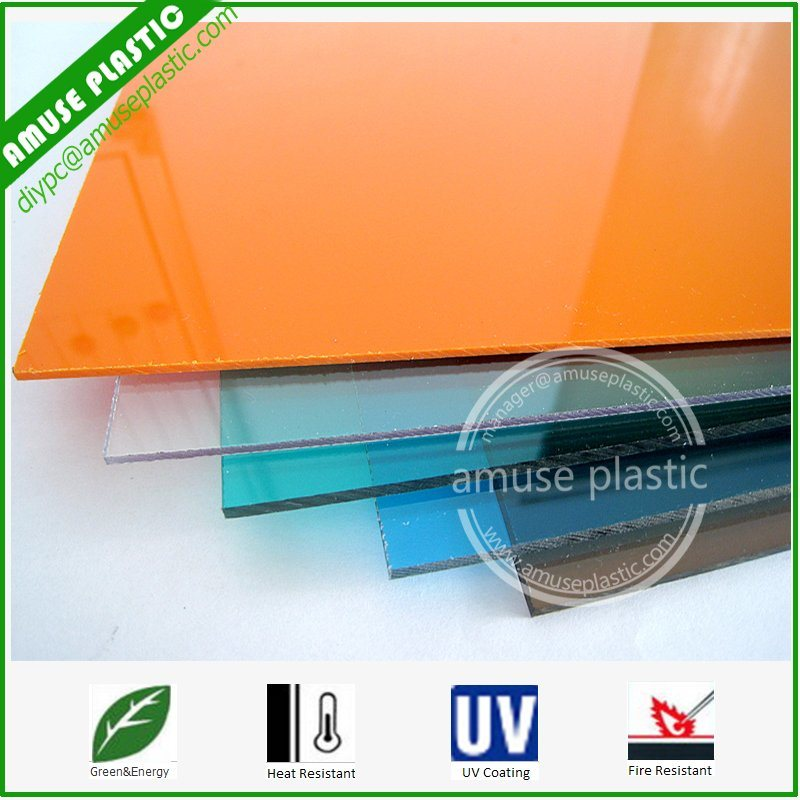 High Quality Bayer UV-Protection Plastic Polycarbonate PC Solid Flat Sheet pictures & photos