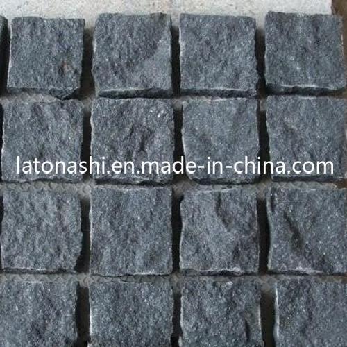 Design Black Basalt Paving Cobble Stone for Landscaping / Patio / Driveway - China Design Black Basalt Paving Cobble Stone For Landscaping