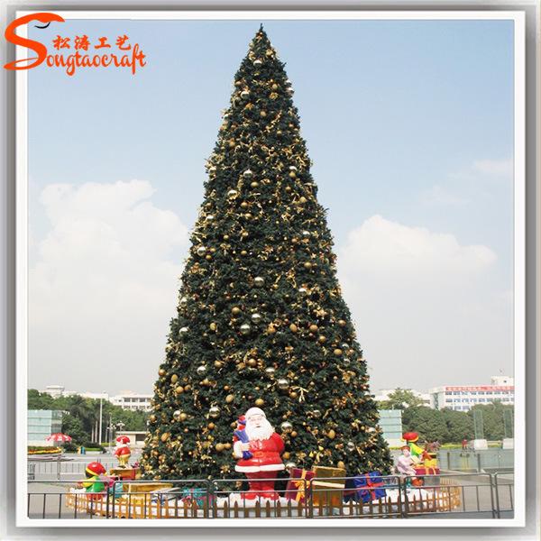 Wholesale Made of PE Chrietmas Decorations 10 Ft Christmas Tree