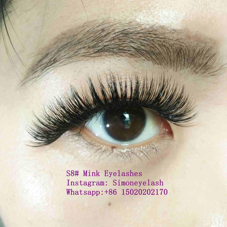 China Hot Sale Mink Lashes Handmade Natural Mink Eyelash Photos