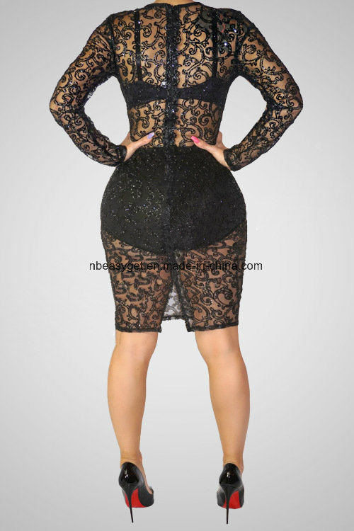 3986e4660a23 Women Hot Sleeveless Paillettes Sequins Full Length Bodysuits Jumpsuits  Rompers Clubwear Esg10437