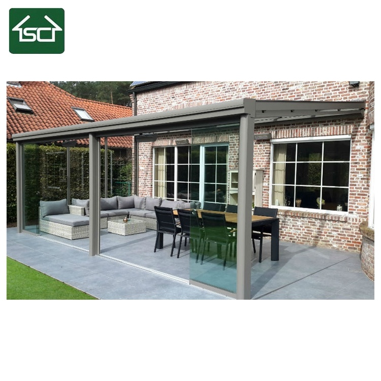 Sturdy Aluminium Polycarbonate Patio Cover, Balcony Canopy, Outdoor Patio  Covering