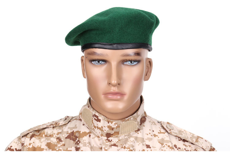 a61da84460eaf China Top Quality 100% Wool Special Forces Military Berets Caps Mens Army  Woolen Beanies Outdoor Breathable Soldier Training Boinas Military - China  Beret