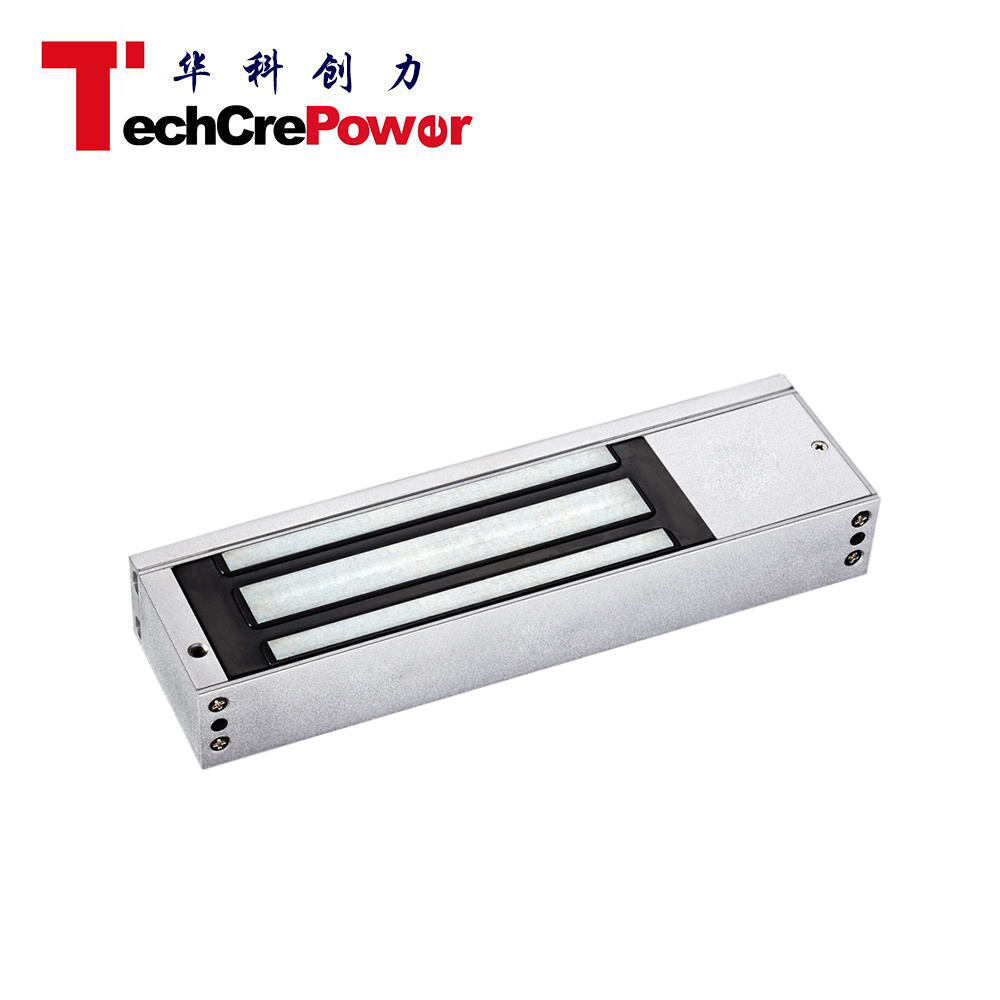 500kgs 1200lbs12V Frameless Glass Single Door LED Electric Magnetic Lock pictures & photos