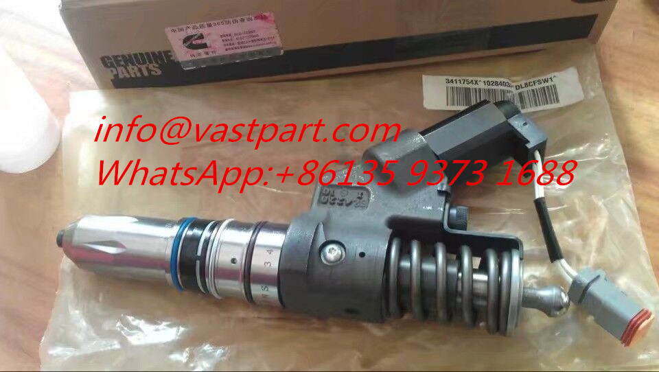 Hot Item Cummins M11 Qsm ISM Engine Part Injector 3411754 3087772 4061851