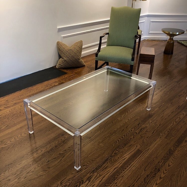[Hot Item] Acrylic Furniture#Lucite Furniture#Coffeetable#Lucite Office  Desk#Cocktail Table#Dining Table