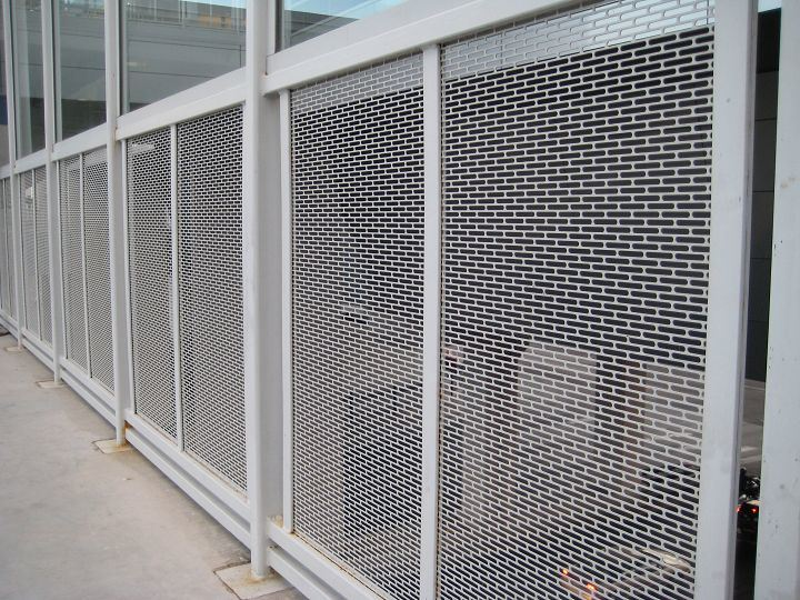 China Perforated Metal Railing Cladding China Perforated