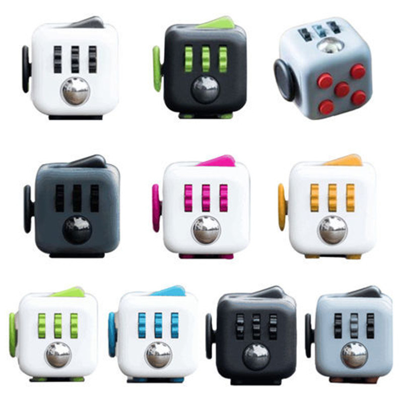Boy Christmas Toy.Hot Item 1 Pc Creative Fidget Cube Funny Desk Toys For Girl Boys Christmas Gift Antistress Irritability Stress Relief For Adults Kids Toy