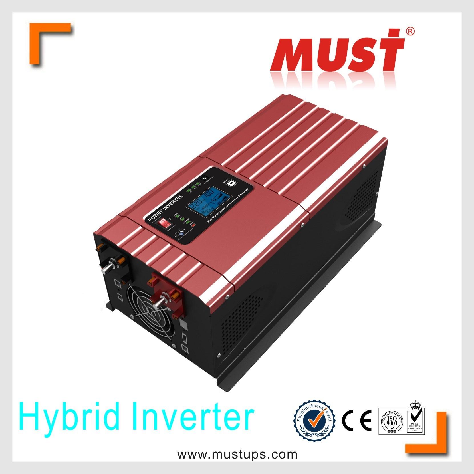 China Low Frequency 3000w 24v 48v Off Grid Power Inverter Transformerless Supply 24vdc 120v Ac And 230v Electrical Solar