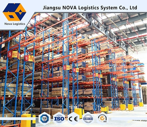 Jiangsu Nova Heavy Duty Selective Pallet Rack with Ce