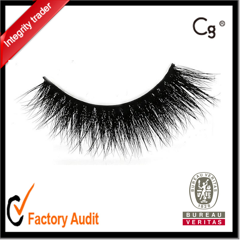 Wholesale 3D Horse Fur Lashes Long Think False Eyelashes