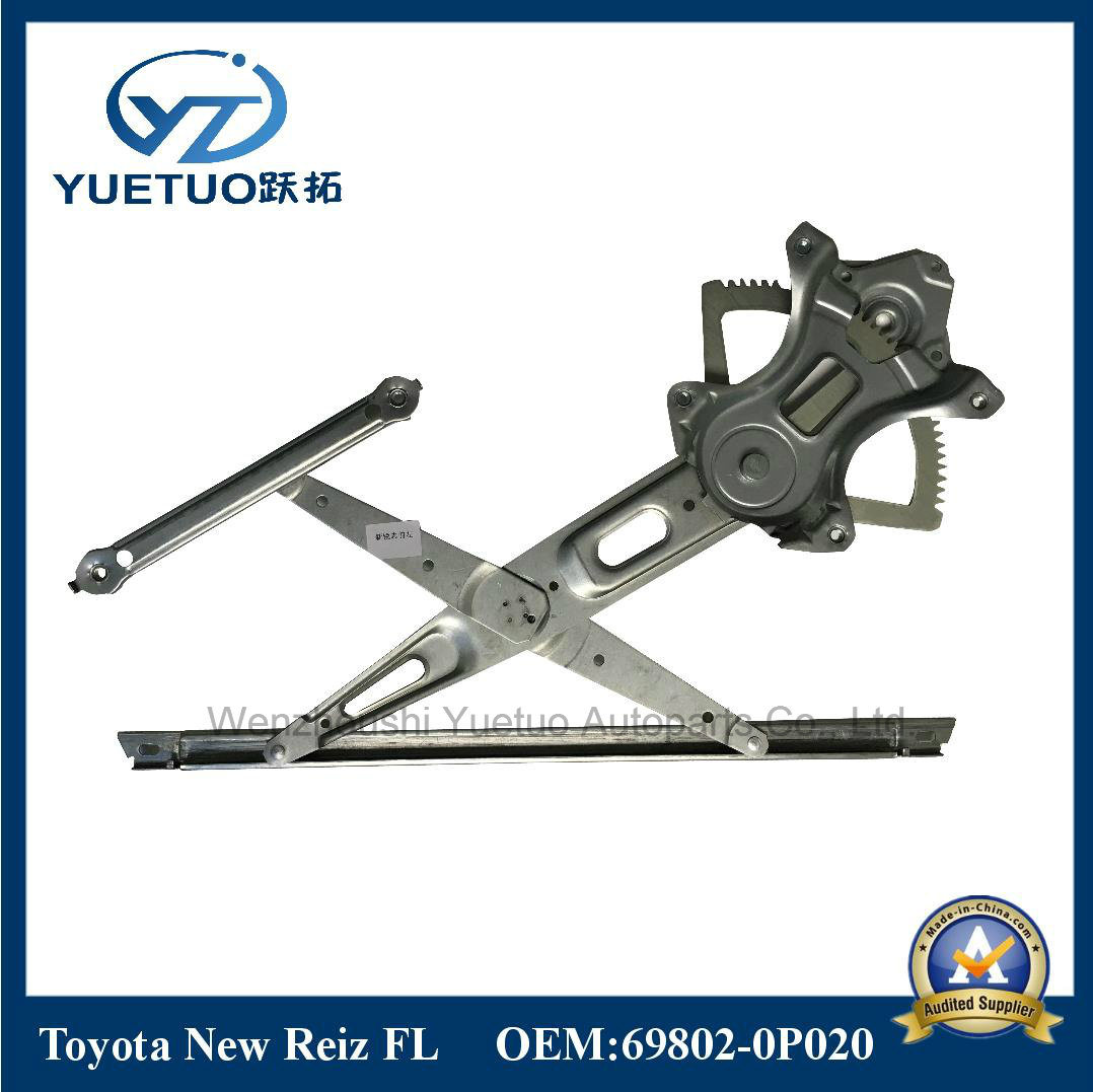 for Toyota Car Window Regulator New Reiz Front Left 69802-0p020