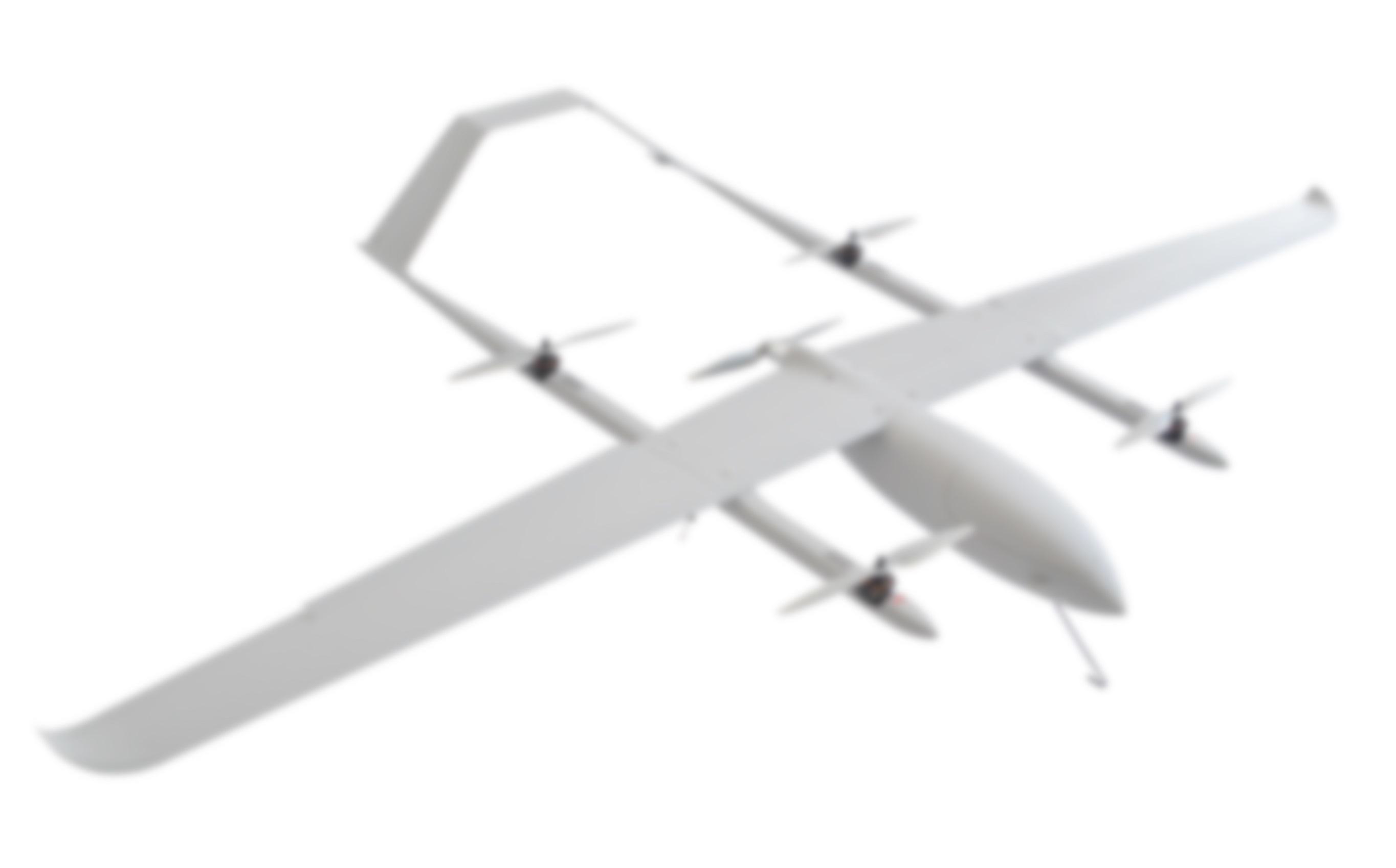 [Hot Item] Kwt-Gx350 Vtol Fixed-Wing Uav