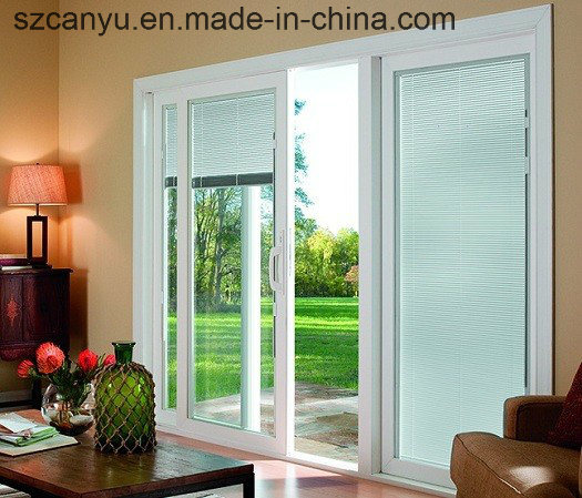 Sliding Window with Aluminum Alloy, Double Glazed Coffee Color Glass pictures & photos