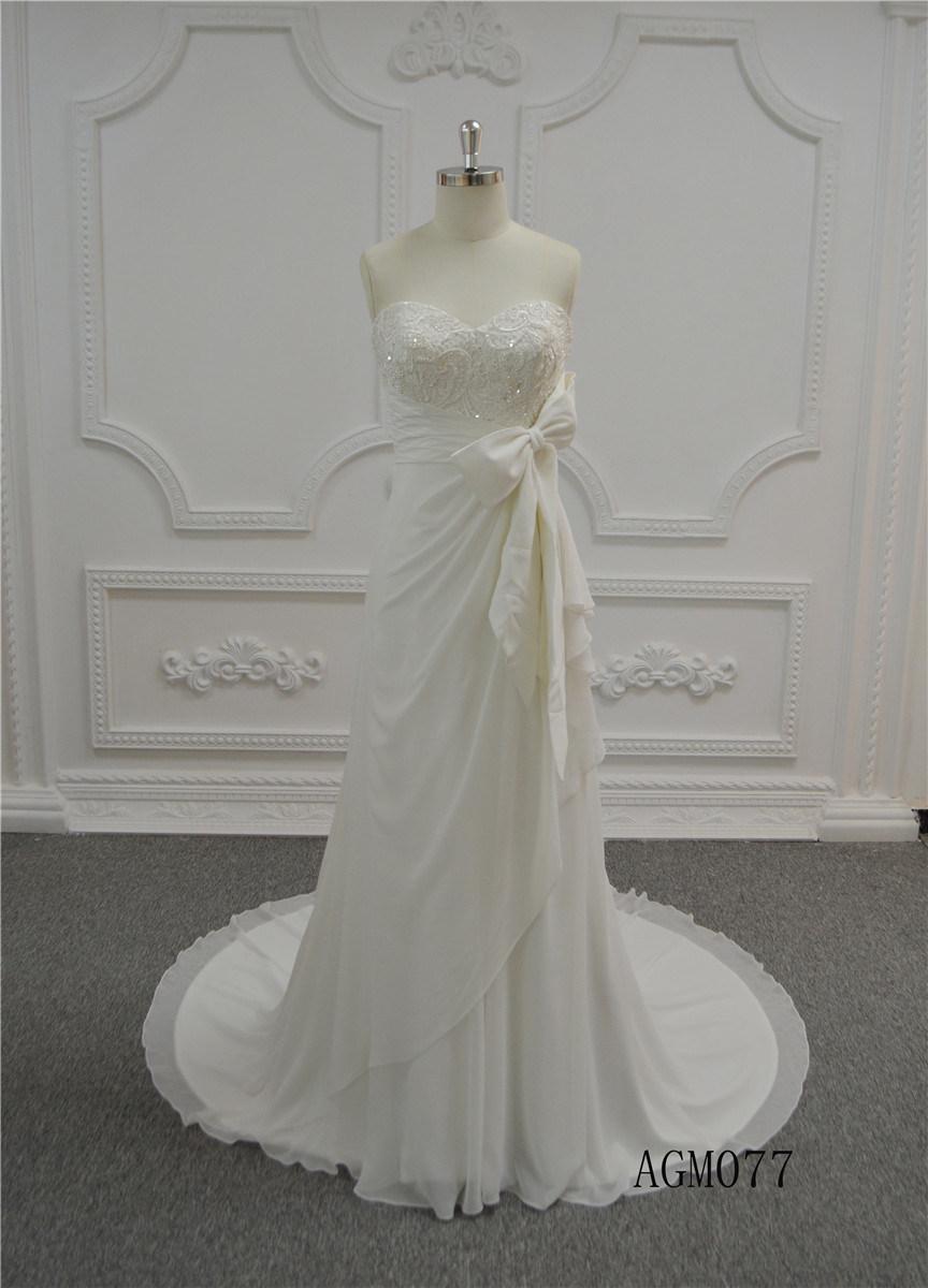 China Latest Long Bridal Wedding Gowns 2018 Ivory Trumpet Wedding ...
