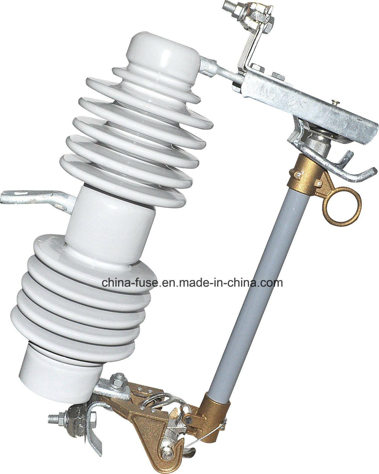 [Hot Item] High Voltage Porcelain Fuse Cutout, Drop out Fuse 24kv 100A