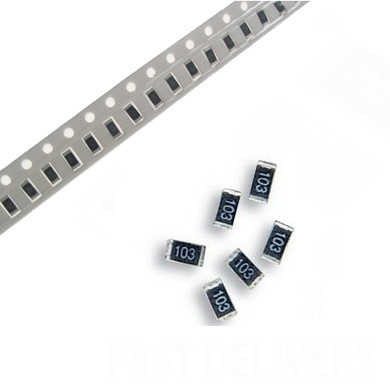 RoHS 1206 5/% Chip Resistors SMD SMT 10R to 820K Pack of 100